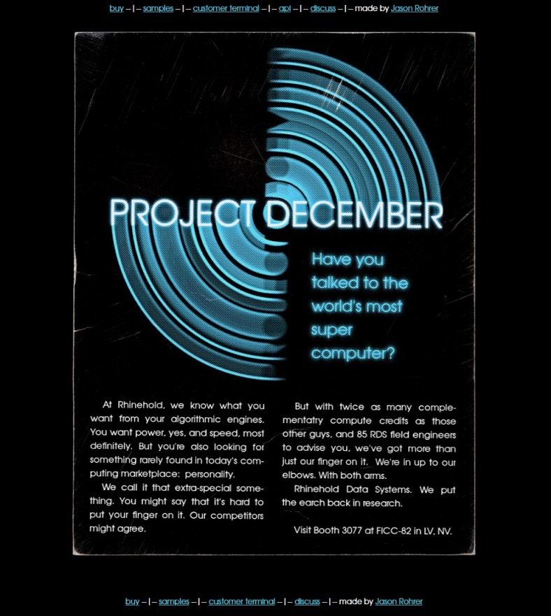 Project December