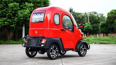 Самый дешёвый в мире электромобиль electricKar K5 поступил в продажу_
